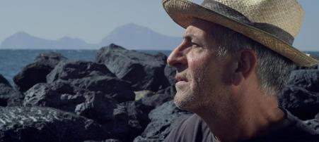 Fotogramma del Film Sul Vulcano di GIanfranco Pannone
