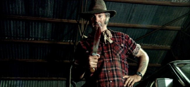John Jarratt in Wolf Creek 2, fotogramma